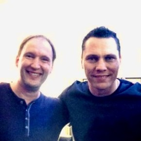 With Tiesto in 2013