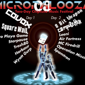 The two-day Micropalooza Chiptune Music Festival at the Ground Kontrol arcade / bar in Portland, OR