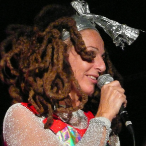 Ari Up of the Slits live in 2008