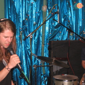 Ariel and drummer Jimi Hey live in the WFMU studios 8/1/08