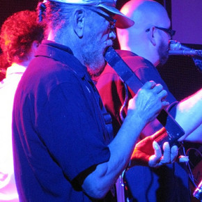 Marshall Allen playing with the Caribou Vibration Ensemble at ATP-NY 2009