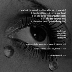 Love Hurts back cover