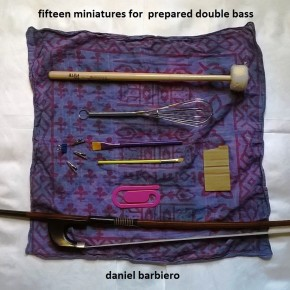 Fifteen Miniatures for Prepared Double Bass Cover