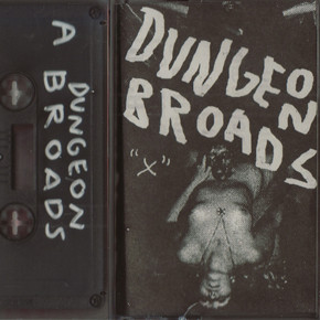 """dungeon broads """"x"""" cassette cover"""