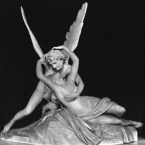 Psyche Revived by the Kiss of Love by Canova
