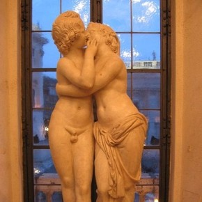 Cupid and Psyche from an original of 2nd century BC marble work