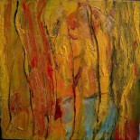 Yellow Abstract by Shakeh, 2009
