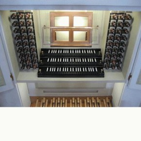 The 1755 Gottfried Silbermann/Zacharias Hildebrandt organ, Kathedrale, Dresden, Germany, on which BWV 660 (among other works) was recorded.