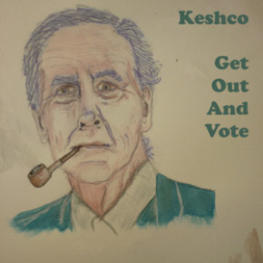 Keshco - Get Out And Vote front cover
