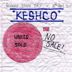 Front cover to No Sale! single