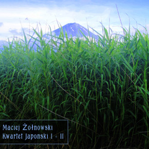 """cover art for this single improvised with a photo by Mya Told titled """"Mount Fuji"""""""