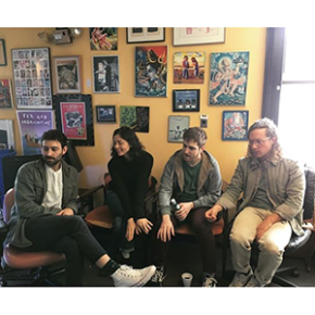Renata Zeiguer and others at WFMU
