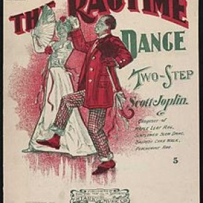 Ragtime Dance cover.