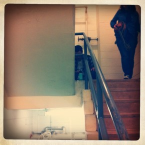 GSU Stairwell - Space is the Place