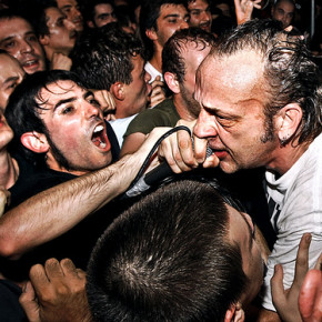 David Yow w/ Jesus Lizard live in Torino, Italy 9/19/2009 (not at ATP but this photo encapsulates the ATP-NY experience pretty well!)