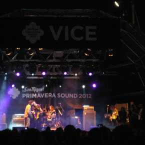 The Men @ Primavera Sound 2012