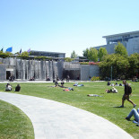 park inside Yerba Buena Center for the Arts, July 2008