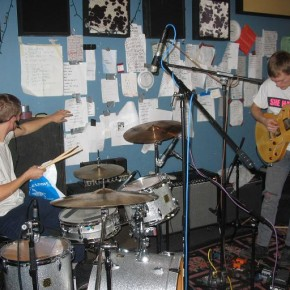 Eddy White (drums) and Andy White (guitar)