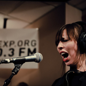 Capsula KEXP Live Performance Seattle, WA October 14, 2010