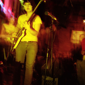 Claudia Meza of Explode Into Colors, live in PDX