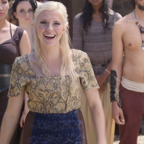 kellee on the game of thrones remix video set