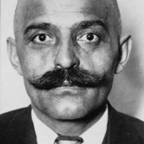Georges Gurdjieff, head-and-shoulders portrait, facing front