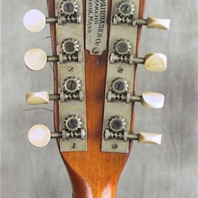 Fairbanks mandolin, made in Boston Mass 1900