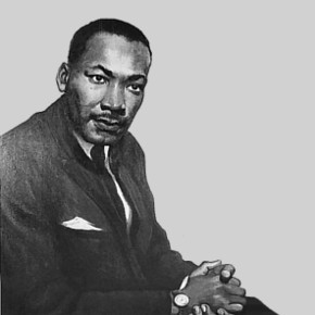 portrait of Dr. King by Betsy G. Reyneau