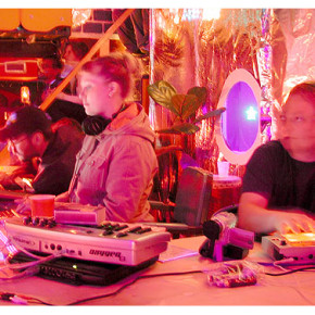 Sagan live at Compound Eye in Oakland, CA 2004