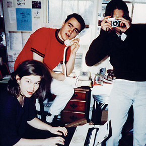 At Office of Teen-Beat 97 (1992 or '93)