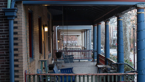 West Philadelphia porches